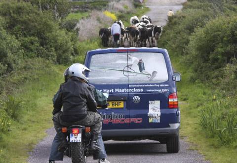 Ireland traffic