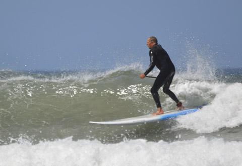 SUP wave Ireland