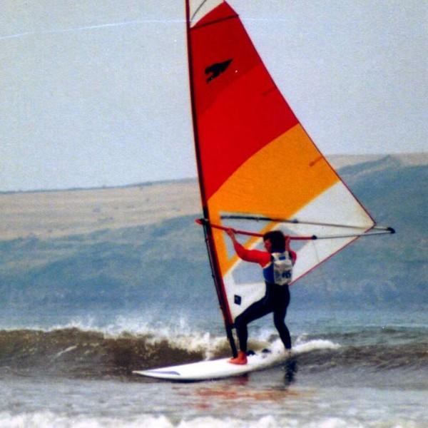 Windsurfer-rocket